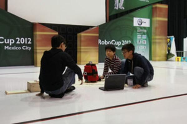 RoboCup2012メキシコ 予選二日目