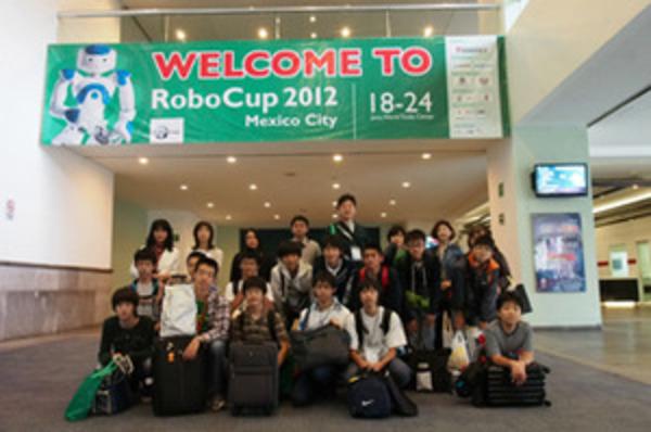 RoboCup2012メキシコ 大会初日