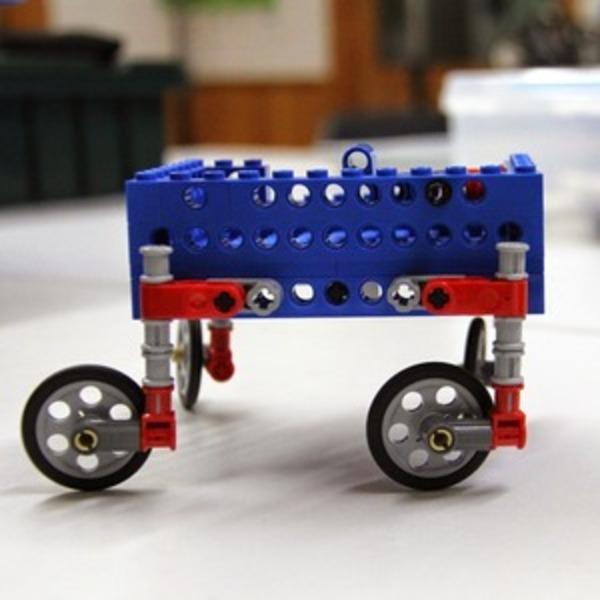 レゴでショッピングカートを作ろう!